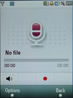 Samsung F480 Touchwiz. Диктофон
