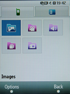 Samsung F480 Touchwiz. Файловый навигатор - 2