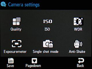 Samsung F480 Touchwiz. Режим камеры - 5