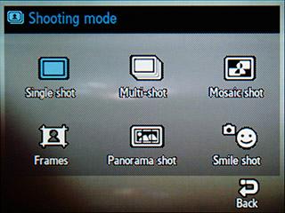 Samsung F480 Touchwiz. Режим камеры - 7