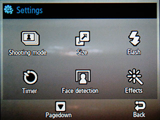 Samsung F480 Touchwiz. Режим камеры - 8