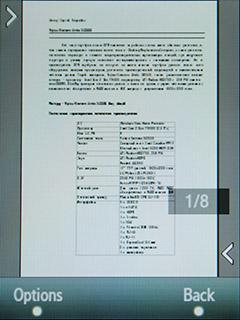 Samsung F480 Touchwiz. Чтение документов MS Office и pdf файлов - 1