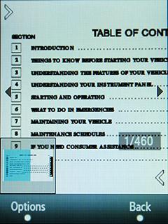 Samsung F480 Touchwiz. Чтение документов MS Office и pdf файлов - 3