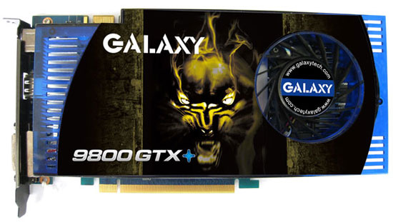 Galaxy GeForce 9800 GTX+