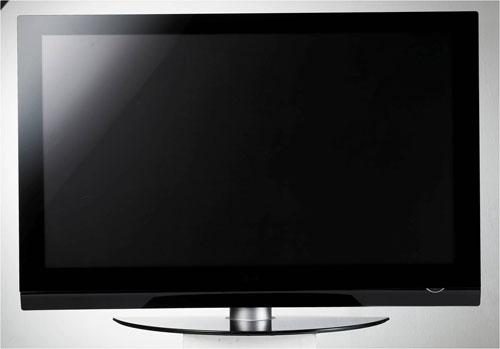 LG 32PG6000: лист черного стекла на стене
