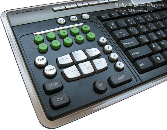 Доп. клавиши Genius SlimStar 525