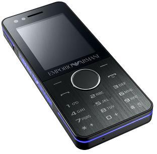 Night Effect: модный телефон от Samsung и Armani
