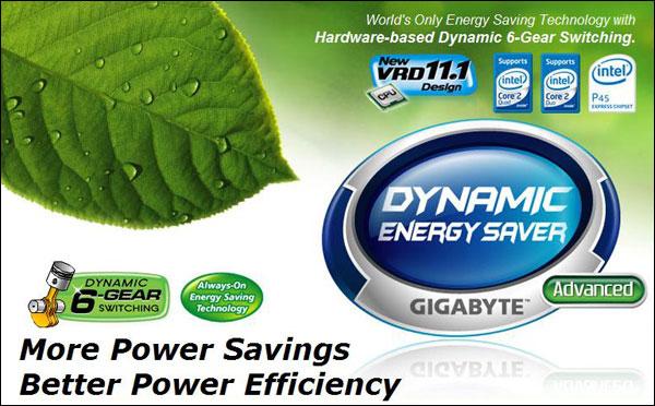 Gigabyte Dynamic Energy Saver (DES) Advanced