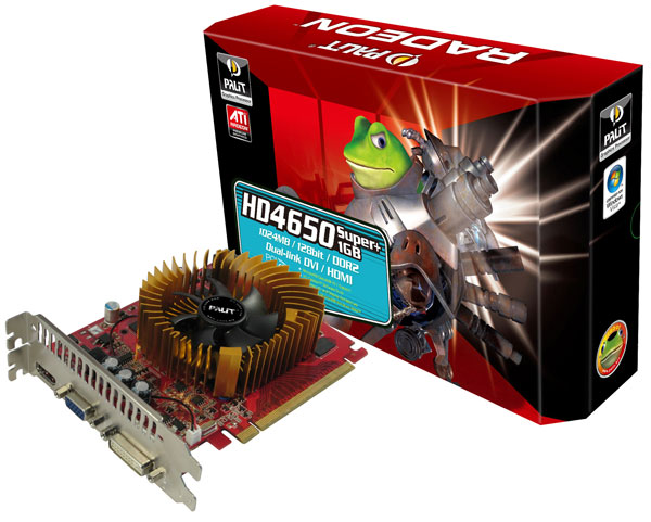 Palit HD 4650 Super+1GB