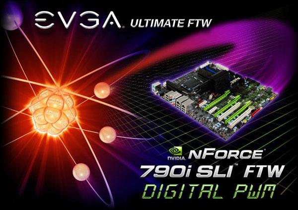 EVGA nForce 790i SLI FTW Digital PWM