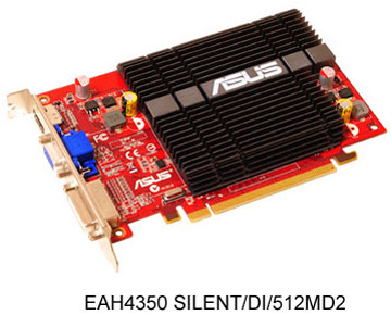 ASUS EAH4350 SILENT/DI/512MD2