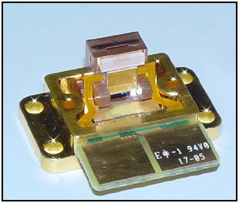 Лазер на базе платформы Necsel с 15-ю излучающими диодами и габаритами 1х5 мм
