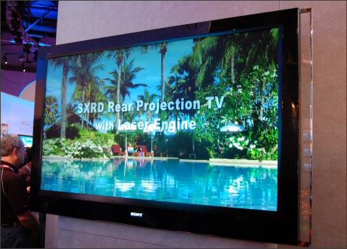 Прототип лазерного телевизора Sony
