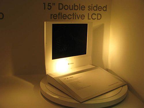 Лицевая сторная 15-дюймового дисплея LG Display