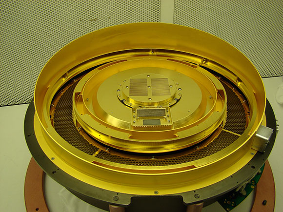 Один из двух сенсоров IBEX