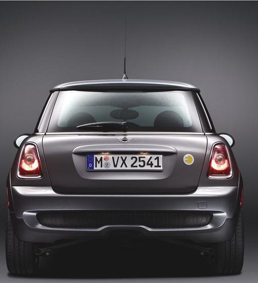 MINI E: электромобиль от BMW
