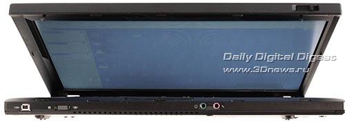 Lenovo ThinkPad T400. Вид спереди