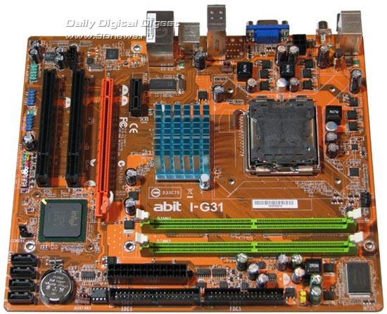 abit I-G31, board