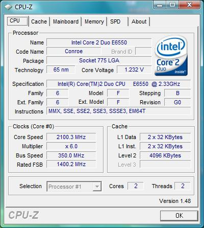 Foxconn G31MG-S, overclocking