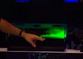 Демонстрация системы охлаждения Intel