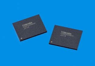 Toshiba аносировала 43-нм память SLC NAND