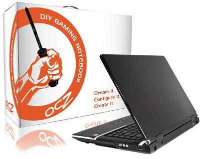 """Компания OCZ Technology пополнила свою линейку DIY (Do-It-Yourself, сделай сам) 15,4-дюймовым ноутбуком OCZ 15 """" DIY..."""