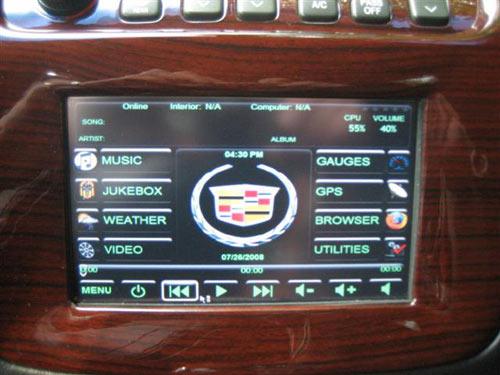 Cadillac Deville DTS 5