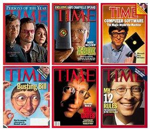 Bill Gates на обложке Time