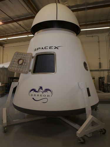 Капсула SpaceX Dragon