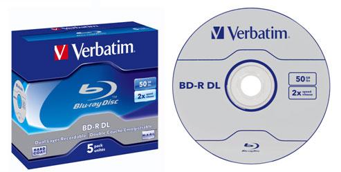 Новогодний подарок Verbatim: диски  Blu-ray объемом 50 Гб