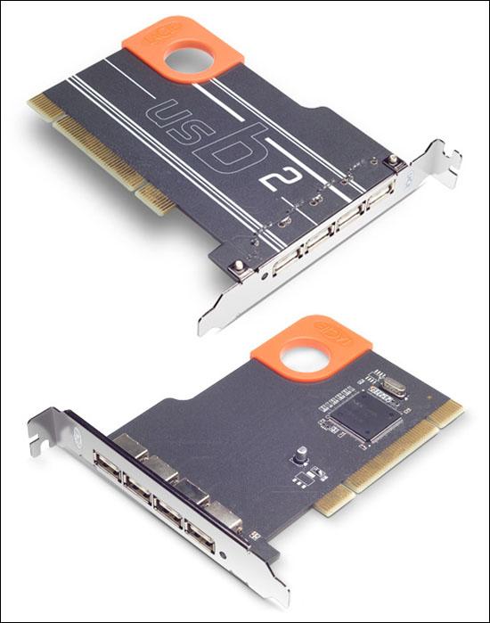 LaCie USB 2.0 PCI Card, Design by Sismo