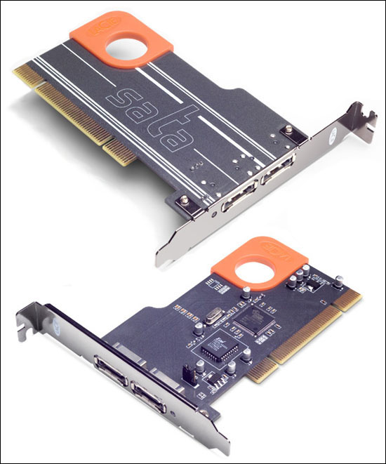 LaCie eSATA PCI Card, Design by Sismo