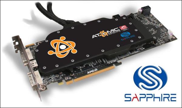 Sapphire ATOMIC HD 4870 X2