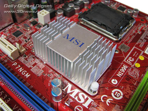 MSI P7NGM, чипсет
