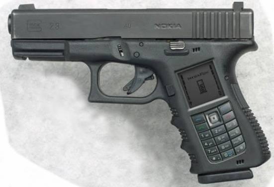концепт пистолета-телефона