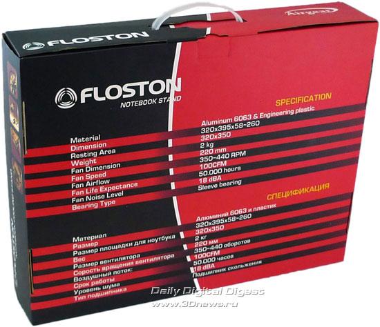 Floston Airgear, упаковка с информацией на русском и английском языках