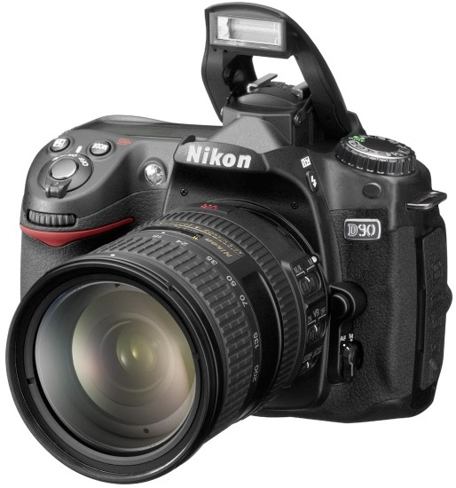SLR Nikon D90 Kit + сумка Nikon.
