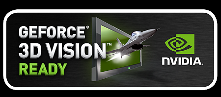 Логотип NVIDIA GeForce 3D Vision