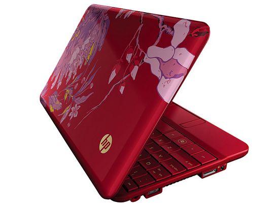 HP Mini 1000 Vivienne Tam - яркий женский нетбук.