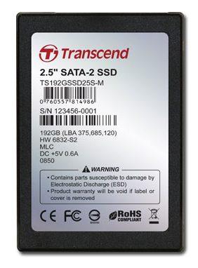 SSD Transcend 192 Gb (TS192GSSD25S-M)