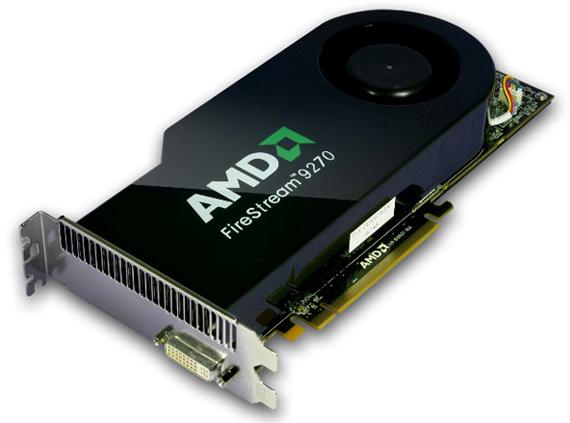 Анонсирована профессиональная видеокарта Sapphire на базе AMD FireStream 9270.