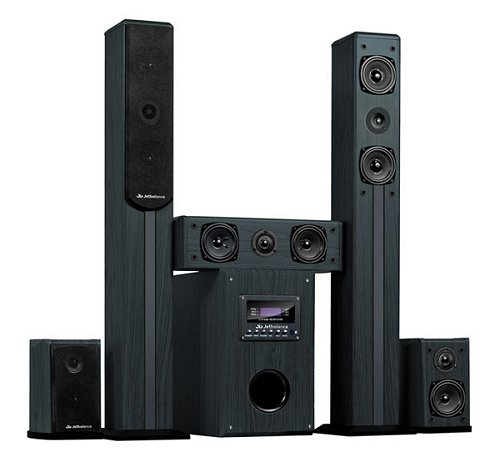 ...JB-671 является богатый набор входных разъемов: 3 аналоговых стерео входа, 1 вход для аналогового канала 5.1...