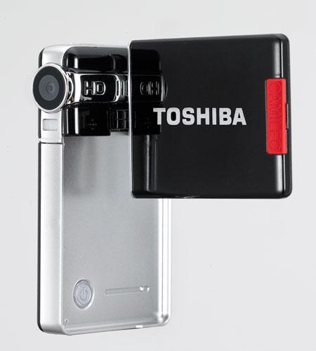 Toshiba Camileo S10: одна из самых тонких в мире видеокамер