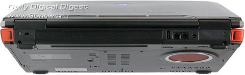 ASUS G50V. Вид сзади
