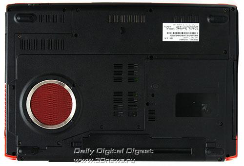 ASUS G50V. Вид снизу
