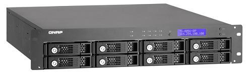 QNAP TS-809U-RP: NAS-система с поддержкой до 16 Тб