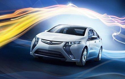 GM опубликовал технические характеристики Opel Ampera.