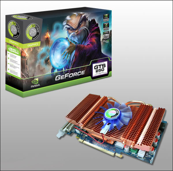 Point of View GeForce GTS 250.
