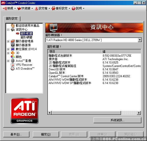 AMD Radeon HD 4890 Catalyst
