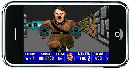 Wolfenstein 3D для iPhone